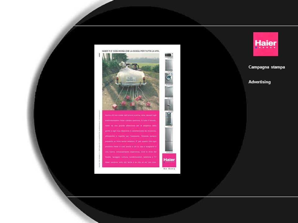 Haier_bianco_2 Campagna stampa Advertising