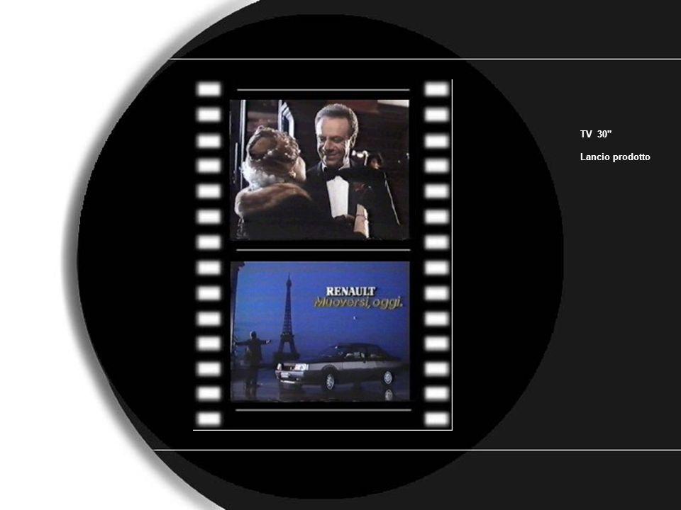 renault TV 30 Lancio prodotto