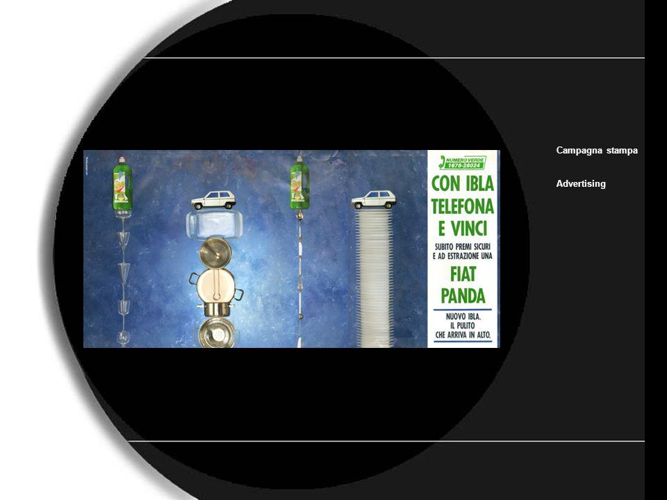 Ibla Campagna stampa Advertising