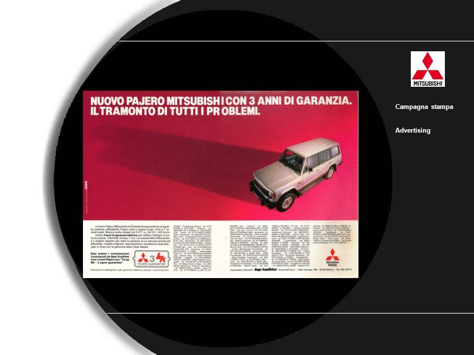 Mitsubishi Campagna stampa Advertising