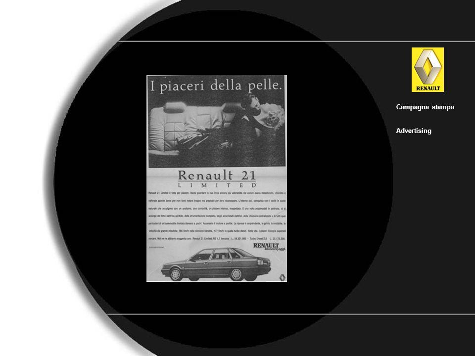 Renault_25 Campagna stampa Advertising
