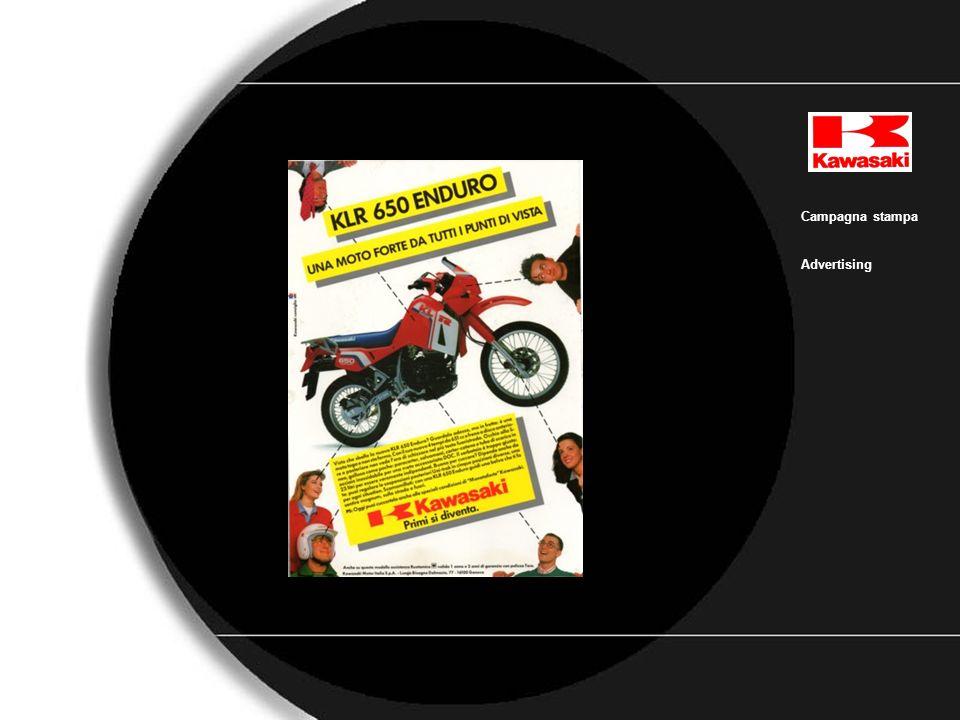 Kawasaki_GTR Campagna stampa Advertising