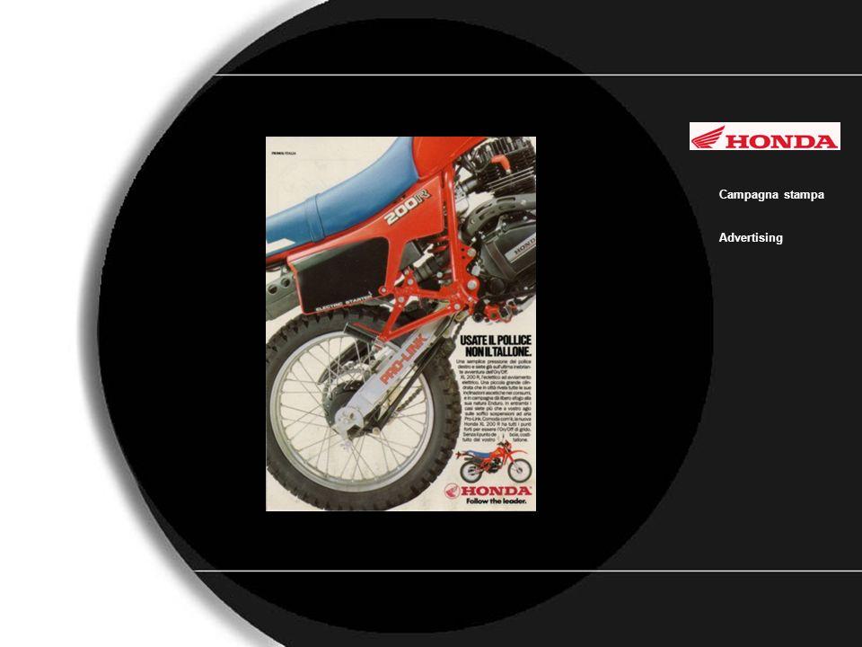 Honda Campagna stampa Advertising