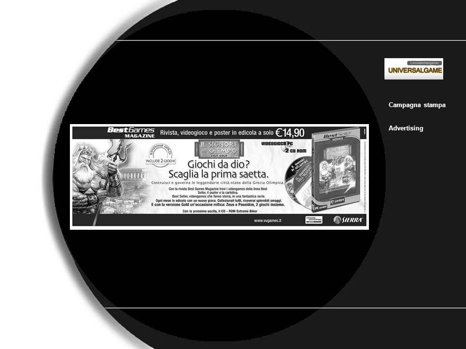 Universal_game_1 Campagna stampa Advertising