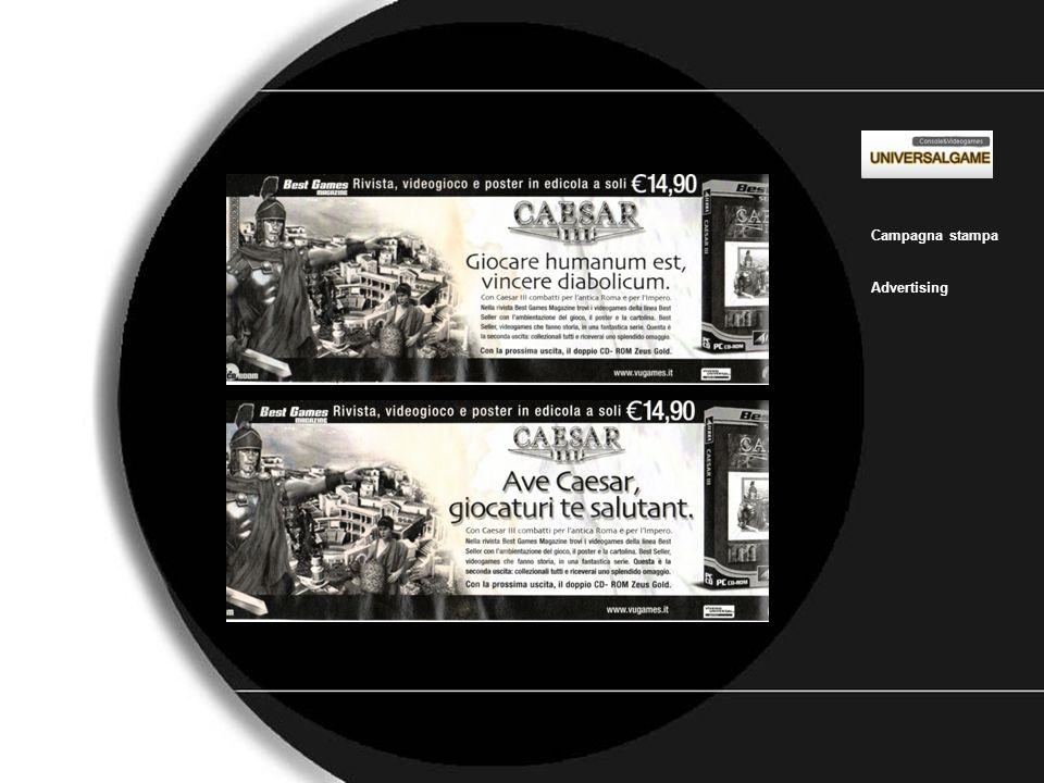 Universal_game_2 Campagna stampa Advertising