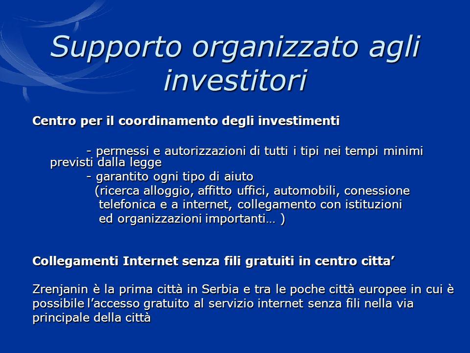 Supporto organizzato agli investitori Centro per il coordinamento degli investimenti - permessi e autorizzazioni di tutti i tipi nei tempi minimi prev