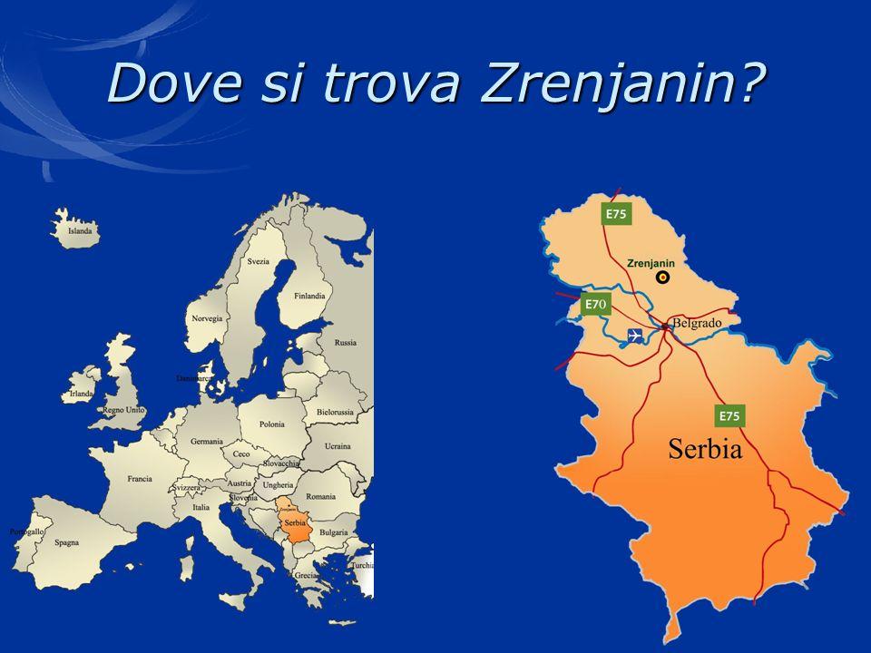 Dove si trova Zrenjanin?