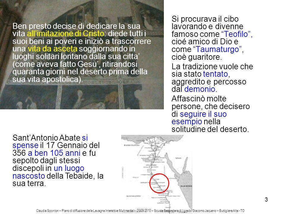 4 Il sepolcro restò ignorato fino al quarto secolo, quando venne scoperto e le spoglie del Santo furono trasferite ad Alessandria dEgitto per essere poste in un sarcofago della Chiesa di San Giovanni Battista.