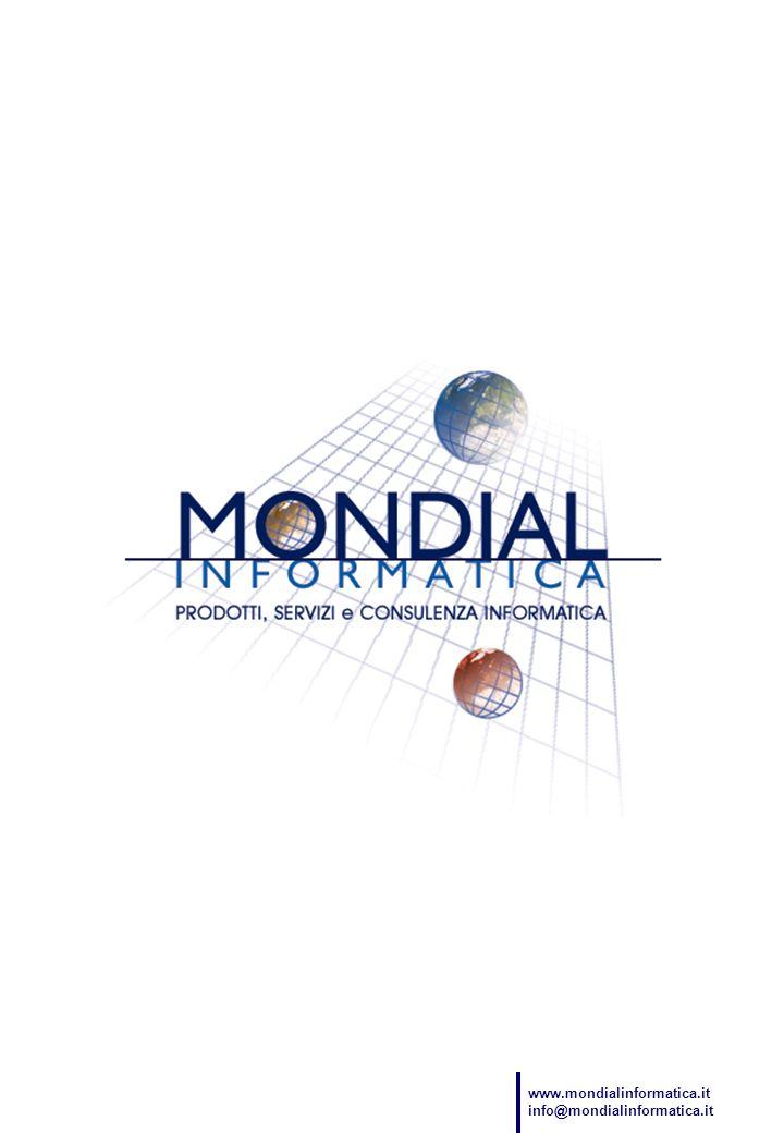 www.mondialinformatica.it info@mondialinformatica.it