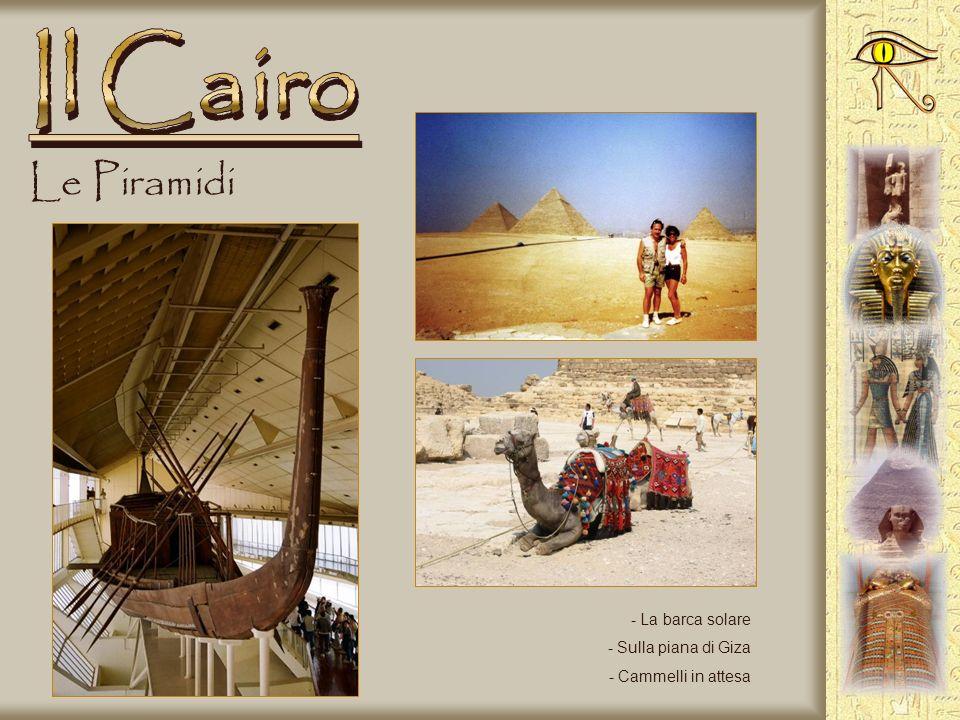 Le Piramidi - Sotto la piramide - Lingresso della piramide - Discesa nella tomba