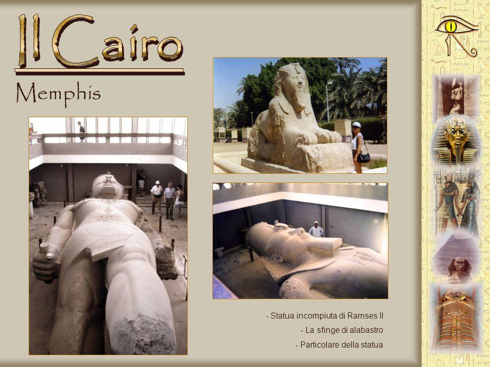 Le Piramidi - La barca solare - Sulla piana di Giza - Cammelli in attesa