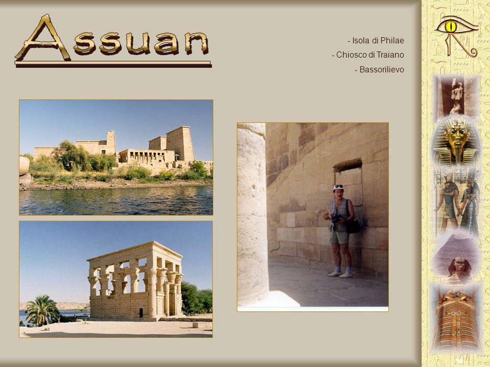 - Isola di Philae - Tempio di Isis - Bassorilievo