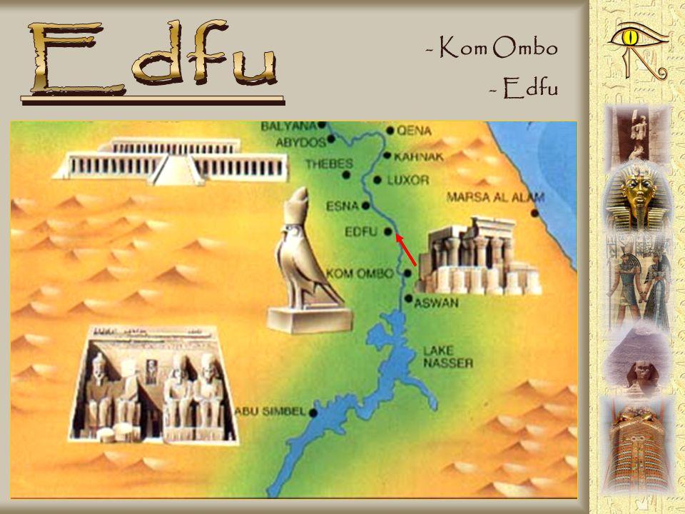 - Ingresso al tempio - Il nilometro (misura il Nilo) - Folklore