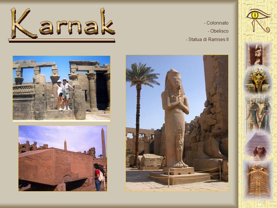 - Complesso di templi a Karnak -Viale degli arieti - Colonne ipostile