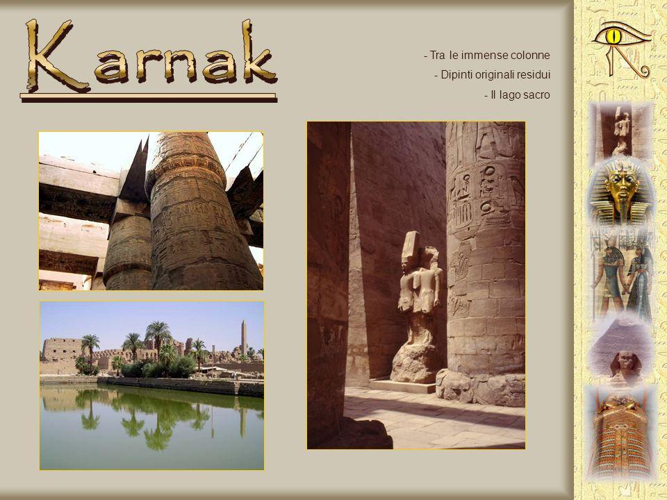 - Colonnato - Obelisco - Statua di Ramses II