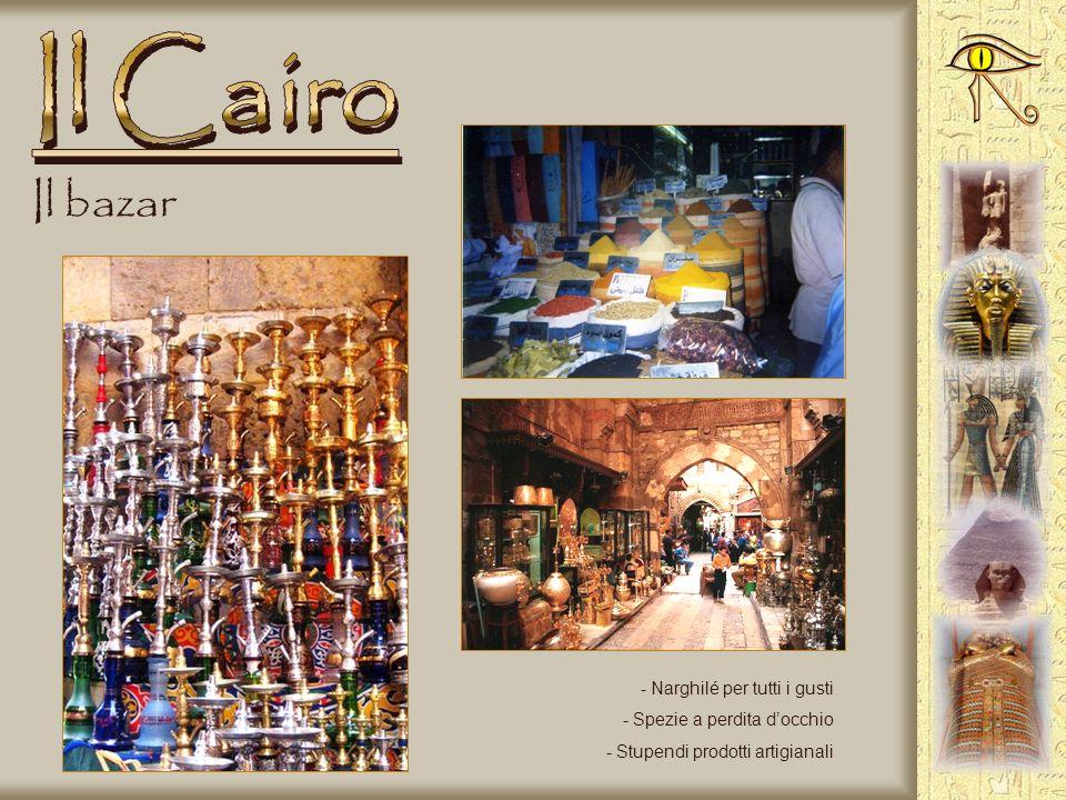 La città - Hotel sul Nilo - In centro - Ristorante galleggiante