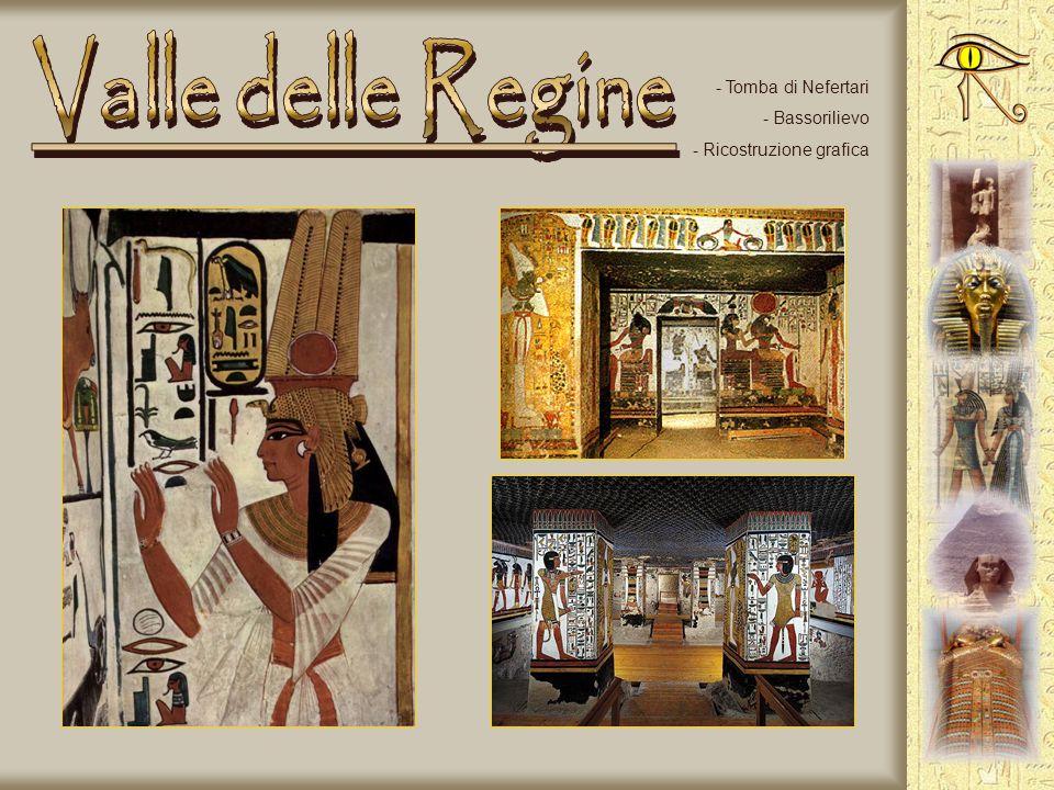 - La regina Hatshepsut - Altri particolari - Colonnato