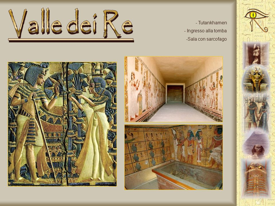 - La tomba di Ramses VI - La rampa di accesso - Il soffitto