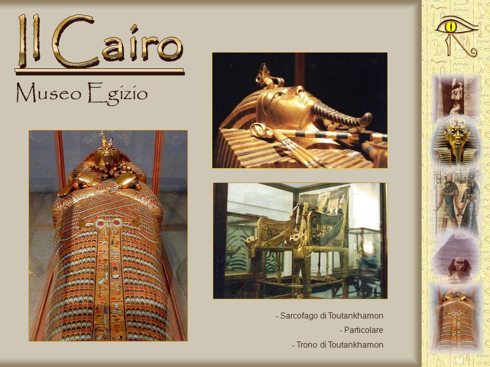 Museo Egizio - Maschera funeraria di Toutankhamon - Ingresso museo - Sala principale