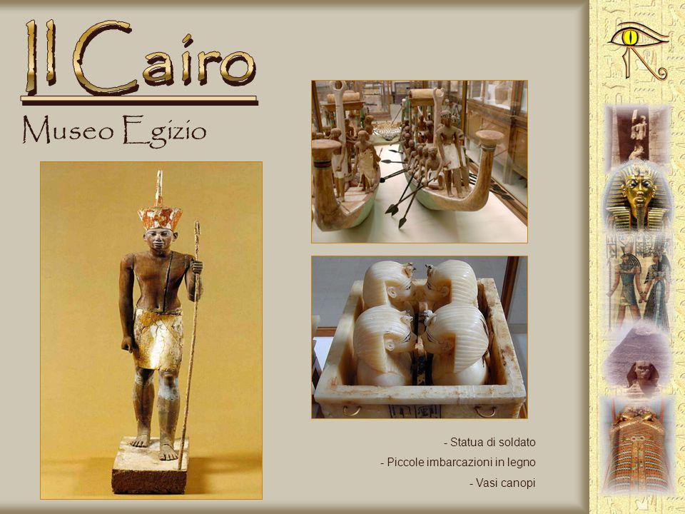 Museo Egizio - Sarcofago di Toutankhamon - Particolare - Trono di Toutankhamon