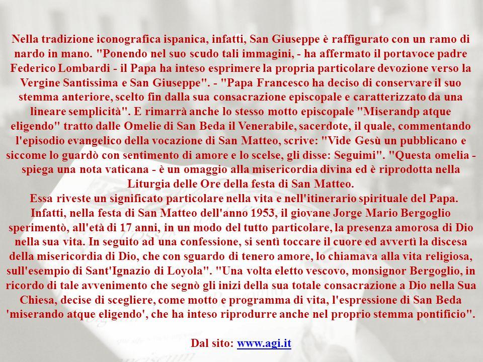 Il nuovo stemma papale (AGI) - CdV, 18 mar.