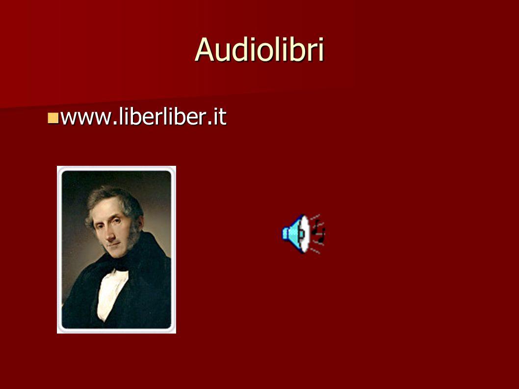 Audiolibri www.liberliber.it www.liberliber.it