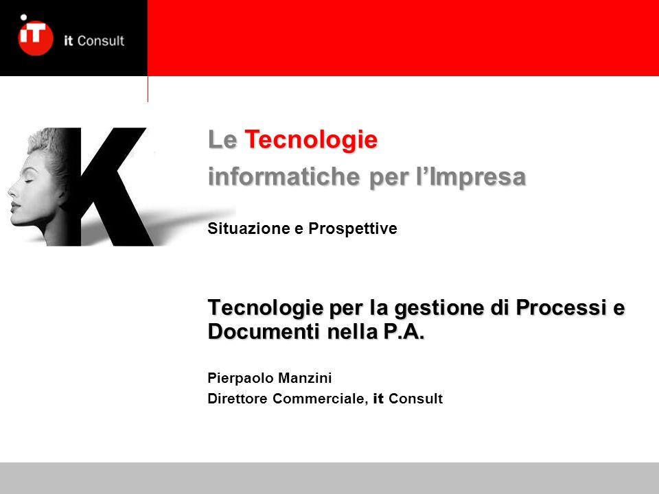 Tecnologie per la gestione di Processi e Documenti nella P.A.