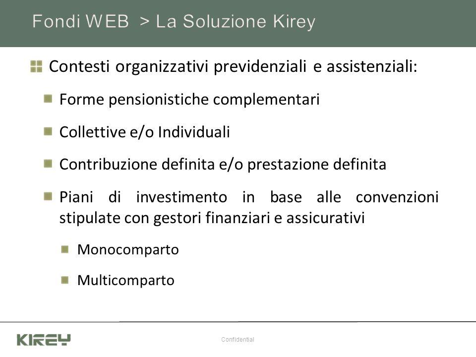 Contesti organizzativi previdenziali e assistenziali: Forme pensionistiche complementari Collettive e/o Individuali Contribuzione definita e/o prestaz
