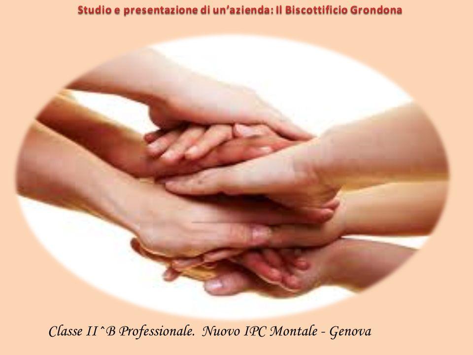 Classe II^B Professionale. Nuovo IPC Montale - Genova