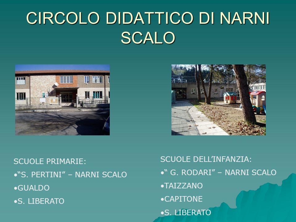 CIRCOLO DIDATTICO DI NARNI SCALO SCUOLE PRIMARIE: S.