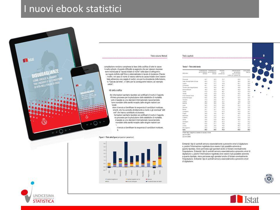 I nuovi ebook statistici
