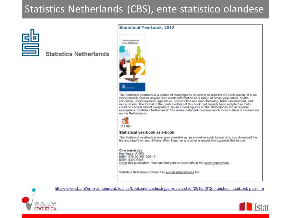 Statistics Netherlands (CBS), ente statistico olandese http://www.cbs.nl/en-GB/menu/publicaties/boeken/statistisch-jaarboek/archief/2012/2012-statistisch-jaarboek-pub.htm