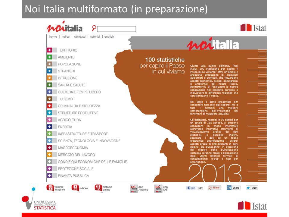 Noi Italia multiformato (in preparazione)
