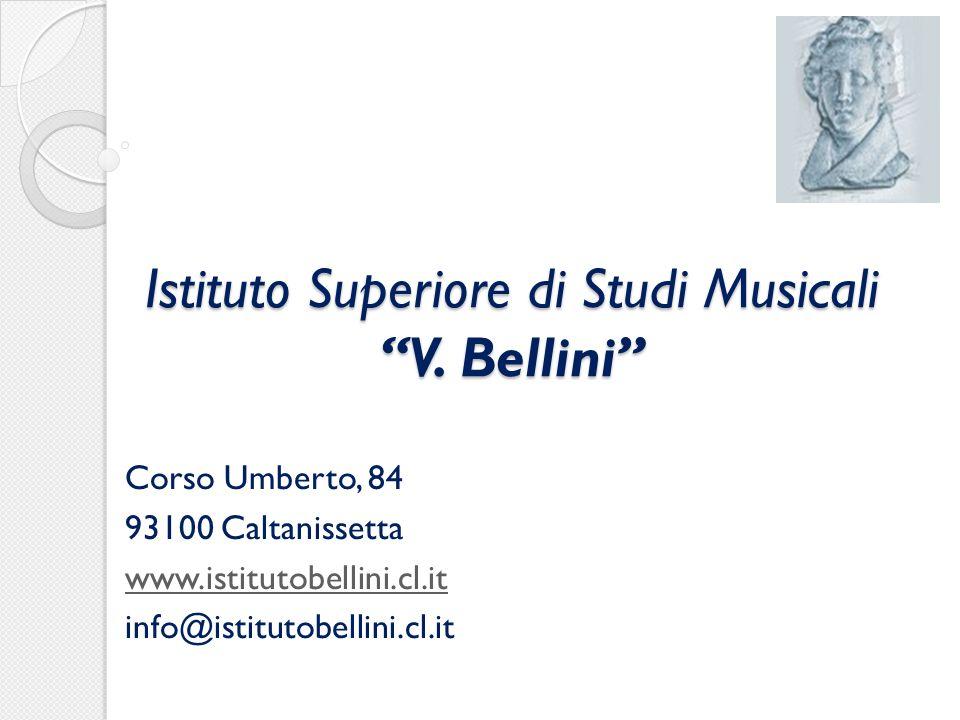 Istituto Superiore di Studi Musicali V.