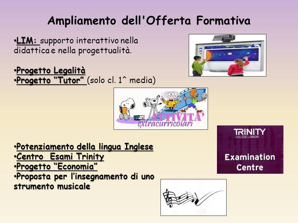 LIM: LIM: supporto interattivo nella didattica e nella progettualità.