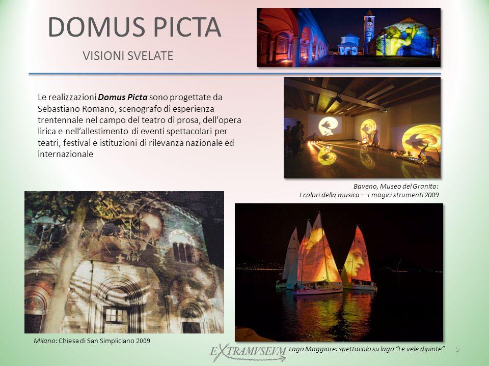 DOMUS PICTA VISIONI SVELATE RASSEGNA STAMPA Piemonte Dal Vivo (2010) La Stampa: luglio 2009 6 Monti e Laghi News 2010