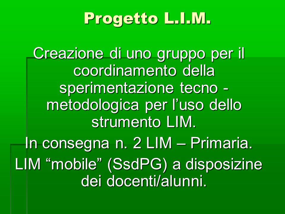 Progetto L.I.M.
