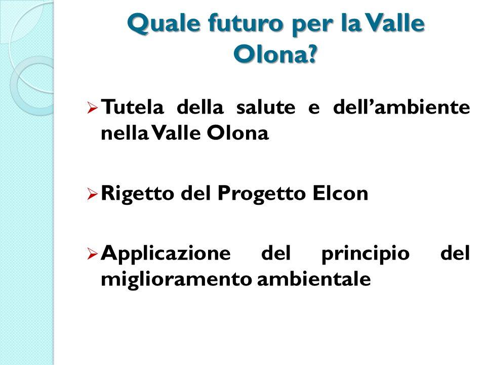 Quale futuro per la Valle Olona.