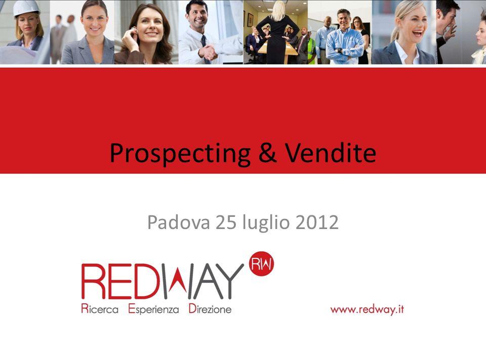 Prospecting & Vendite Padova 25 luglio 2012