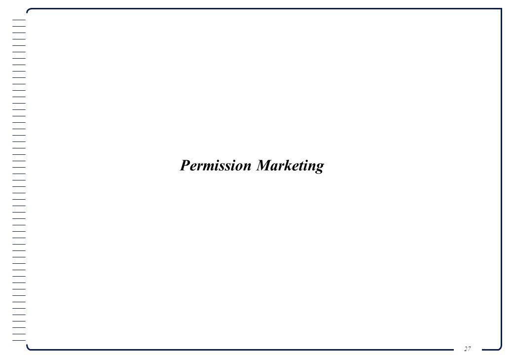 26 Il direct marketing è una disciplina di marketing strategicamente comunicazionale, che si avvale di strumenti, tecniche creative e tecnologiche di tipo interattivo per rivolgersi a un segmento o gruppo individuato con caratteristiche determinate e/o conosciute, per stimolarlo a una o più azioni che diano delle risposte qualitative o quantitative, inequivocabilmente misurabili su parametri dati.