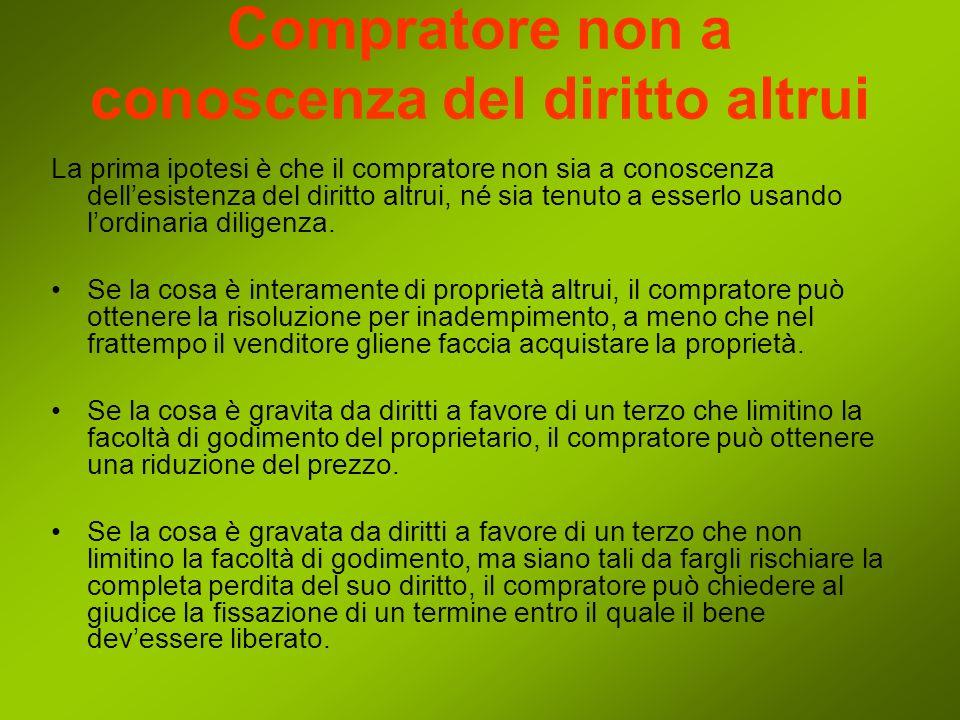I punti in cui la disciplina della convenzione si differenzia dal codice civile sono: La formazione del contratto Obbligo del venditore di garantire le conformità del contratto La Risoluzione del contratto Lesclusione di responsabilità