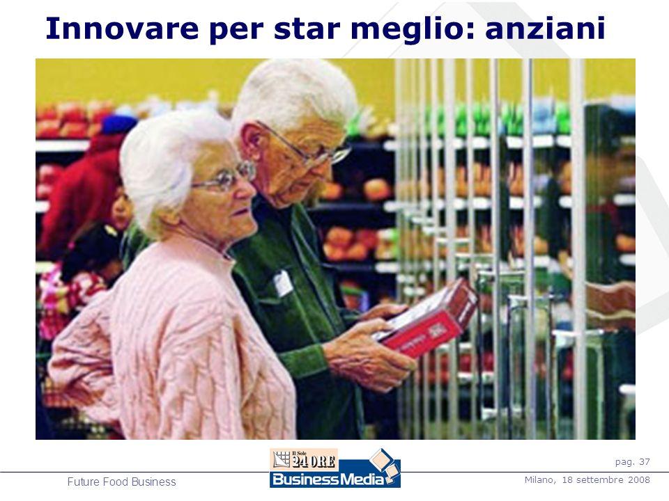 pag. 37 Milano, 18 settembre 2008 Future Food Business Innovare per star meglio: anziani IL FORMAT SENIOR DI TESCO Porte scorrevoli automatiche Pavime