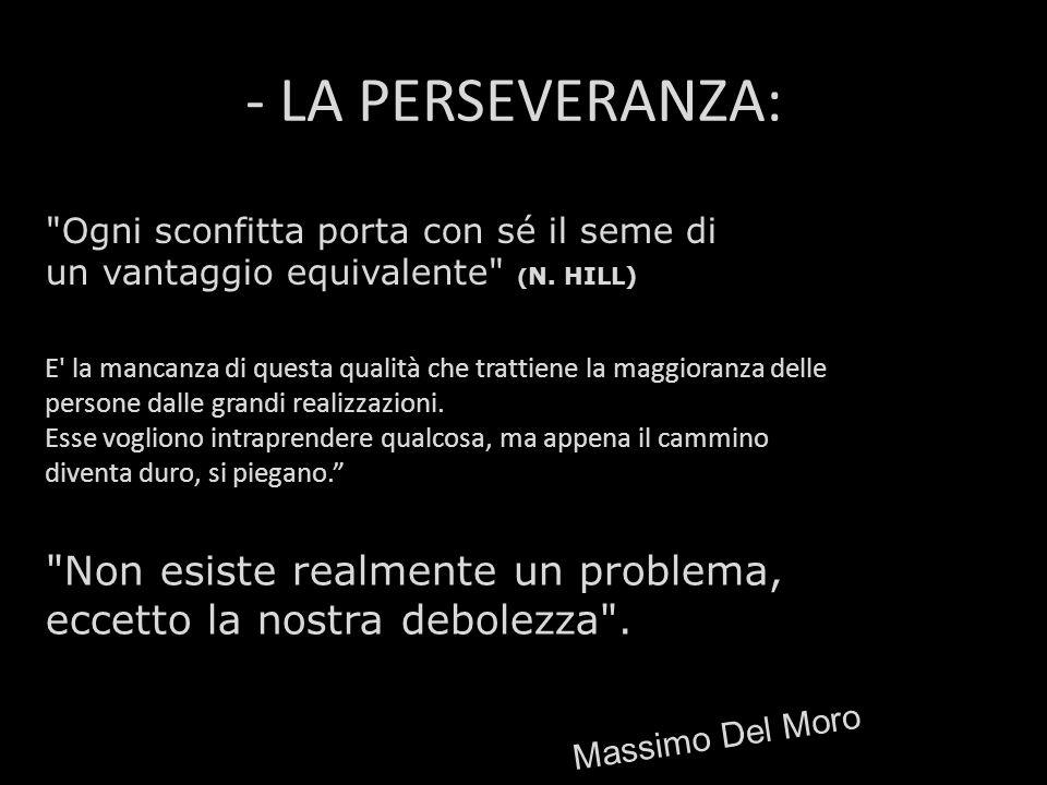 - LA PERSEVERANZA: