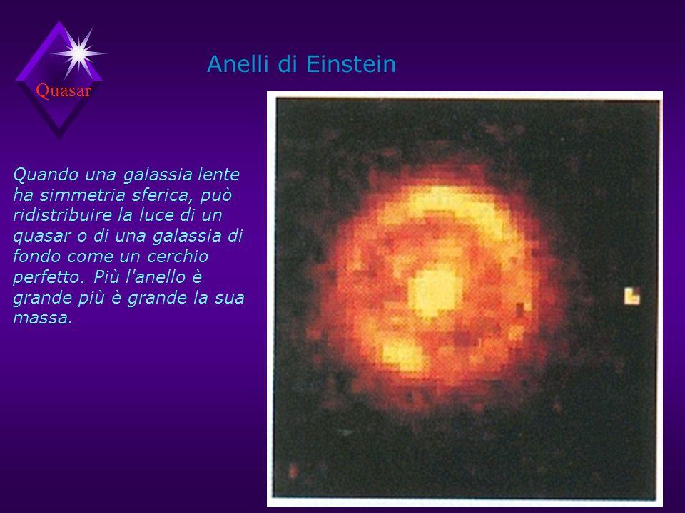Quasar Sono alla stessa distanza, misurata con l effetto doppler.