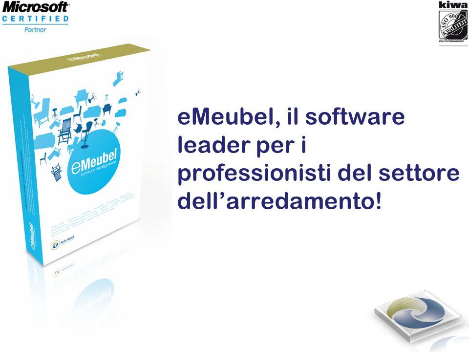 eMeubel, il software leader per i professionisti del settore dellarredamento!