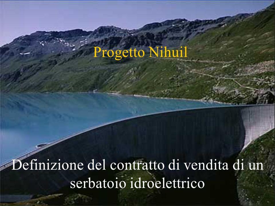 R. Soncini Sessa, MODSS, 2004 2 Progetto Nihuil Definizione del contratto di vendita di un serbatoio idroelettrico