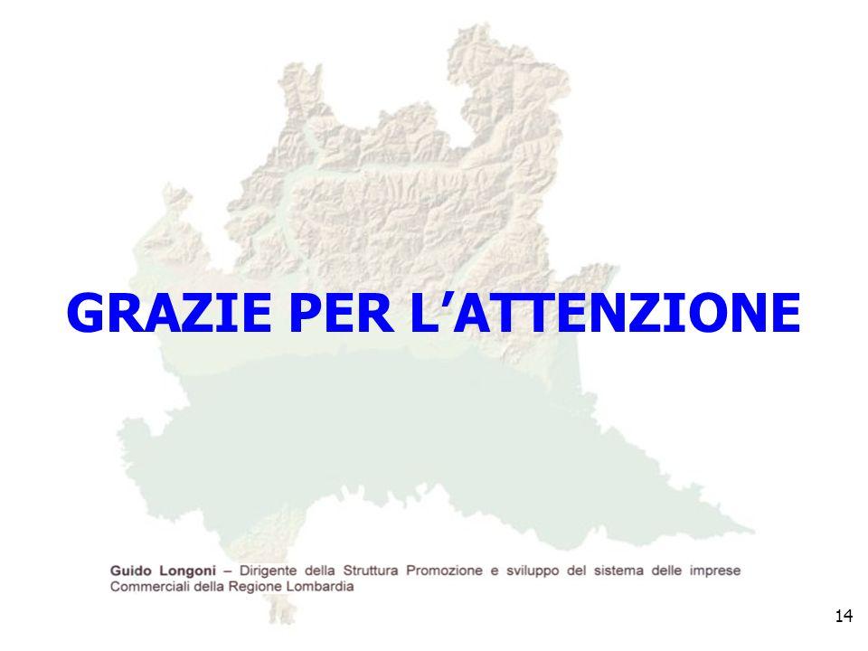 GRAZIE PER LATTENZIONE 14