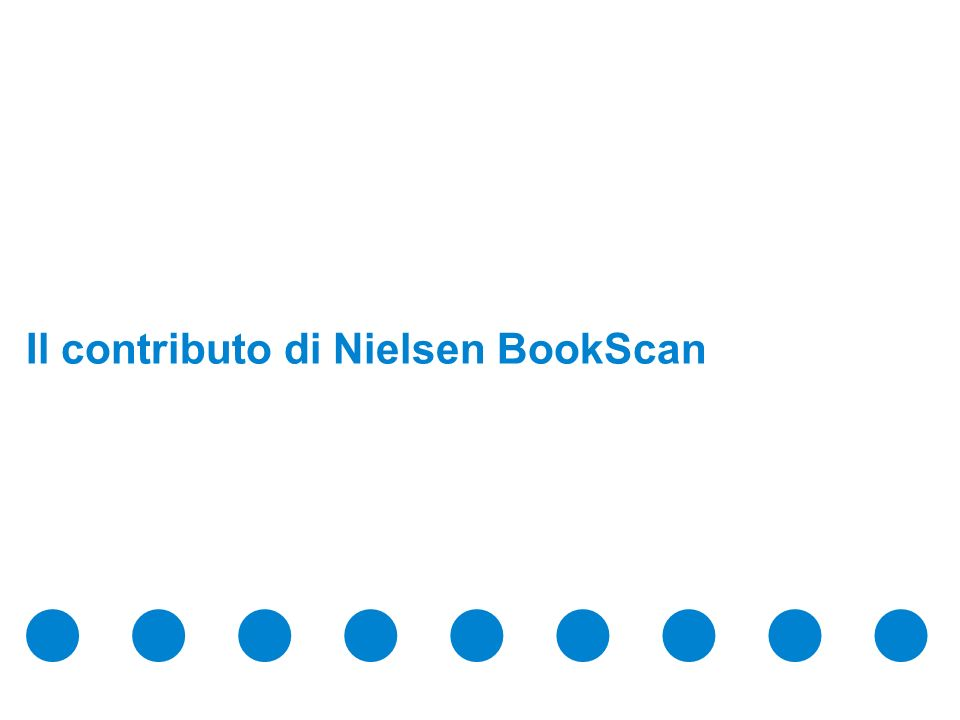 Confidential & Proprietary Copyright © 2009 The Nielsen Company Il mercato del libro trade per bambini & ragazzi