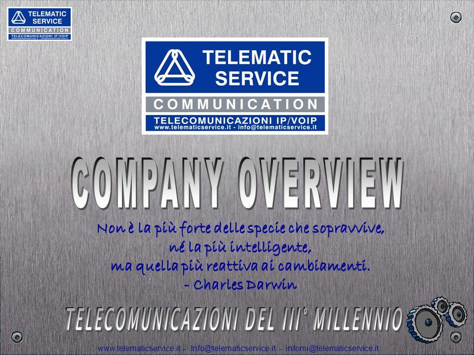 www.telematicservice.it - Info@telematicservice.it - infomi@telematicservice.it TSC nasce a Torino nel 1984 da un Team di professionisti del settore TLC.