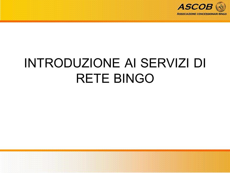 Quali sono i servizi commerciali e di marketing offerti da Rete Bingo.